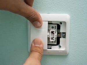 Монтаж и замена выключателей